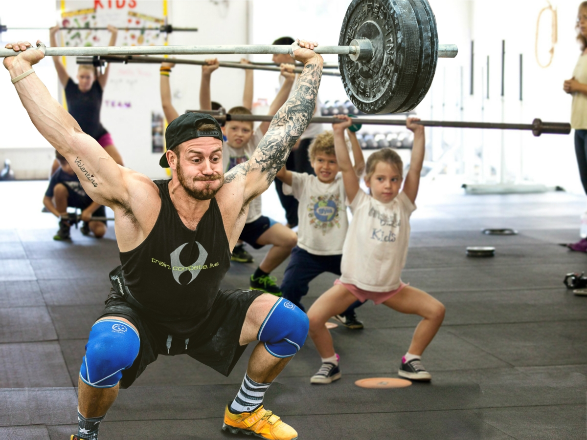 Man Who Identifies as 6-year-old Dominates CrossFit Kids Class (Satire)